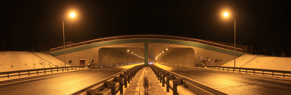 The D1 Motorway Tunnel Lučivná